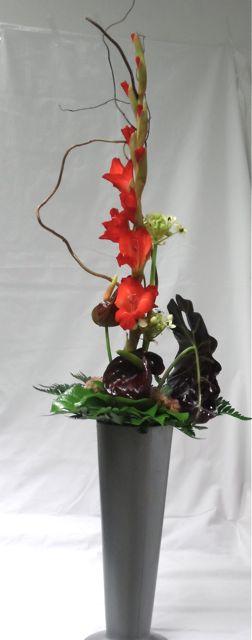 Gladioluskimppu