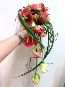 hääkimppu, ruusut