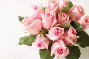 Naistenpäivän kunniaksi Linjurin Kukasta ruusukimppu. Kuopion keskustan paras kukkakauppa.
